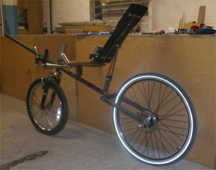 frame with seat mounts